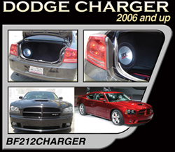 Bassforms BF212CHARGER 2006+ Dodge Charger RT & SRT-8 (Remove Factory Box), 12 Inch Sealed Right OR Left
