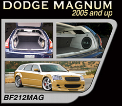 Bassforms BF210MAG 2005 and Up Dodge Magnum (1) 10 Inch on Each Side Sealed, Righ OR Left