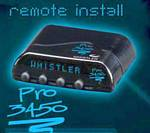 Whistler Pro-3450 Pro Series Remote Install Radar/Laser Detector with Tri-Directional Display