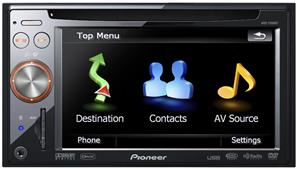Pioneer AVIC-F900BT 5.8 Inch In-Dash Navigation AV Receiver with DVD Playback and Built-In Bluetooth