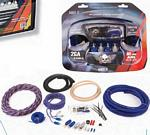 Power Acoustik AKIT-2 2 Gauge 2500 Watt Amp Kit