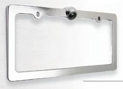Power Acoustik Lp 1ca Chrome License Plate Frame With 5