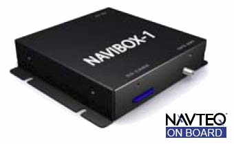 Power Acoustik NAVIBOX-1 Plug-n-play small Navigation Box module works with compatible head units by touch screen control