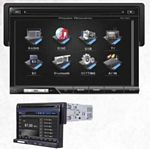 Power Acoustik PD-710B Single DIN 7 Inch Touch Screen LCD/DVD AV Receiver with USB/SD and Bluetooth