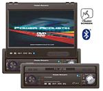 Power Acoustik PTID-8940NBT 7 Wide Touch Screen In-Dash Fully Motorized TFT Monitor/DVD/AM/FM with Bluetooth