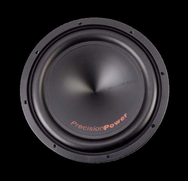 "Precision Power BI.124 Black Ice 500 Watts 12/"" Dual 4 ohm Car Audio Subwoofer"