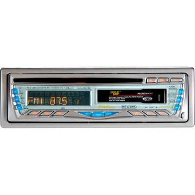 Pyle PLCD-CS90 50-Watt X 4 CD/Cassette Receiver With Detachable Face