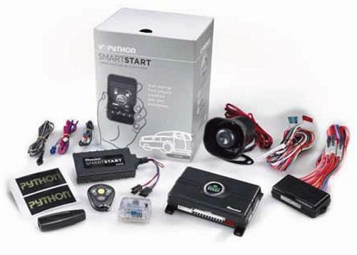 Python Ps5000 Complete Security  Alarm And Remote Start