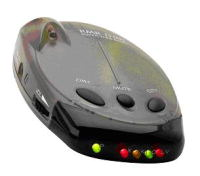 Rocky Mountain Radar D210 All Band Radar/Laser Detector with Smart-Scan