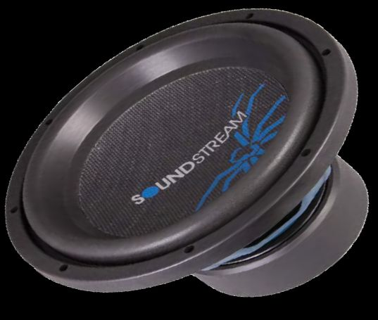 """Soundstream PW-15S 15"""" 400W Dual 4-Ohm Subwoofer at ..."""