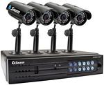 SWANN SW343DP2 SECURITY SYS 2CAMERA DVR 320GB USB 2REMOTES