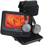 AUDIOVOX DS7321 PK Portable Swivel 7 LCD / DVD Player Kit