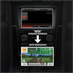 AudioVox EXPNAV2 Next Generation Fully Integrated Navigation System For Select 2013-2016 Ford / Lincoln Vehicles
