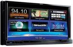 CLARION NX702 6.95  DOUBLE-DIN NAVIGATION MULTIMEDIA CONTROL STATION WITH DVD PLAYER