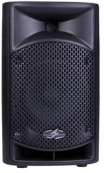 Power Acoustik P-12A 12 / 1 Horn 2 Way 1000W Powered Full-Range PA Speaker System