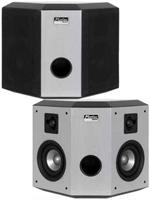 Earthquake PN-2421WT Platine Noiree 2x4 + 2x1 2 Way 200 Watt 5.1/7.1 Side DiPole/Bookshelf Speakers Platinum Finish