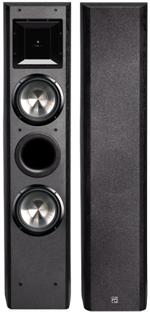 BIC FH-6T Dual 6.5 / 6.5 Mid / Horn 400 Watt 2 Way Tower Speaker