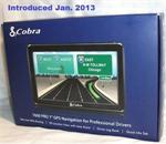 Cobra 5400 PRO 5 GPS Navigation for Truck / Professional Drivers with AURA, STAA, HAZMAT US and Canada