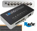 Soundstream Harmony 32 Bit / 192kHz Digital Signal Processor with 31 Band 1/3 Octave EQ, 8 - 8V RCA Outputs, Optical Out, 4 Way Crossover, Remote