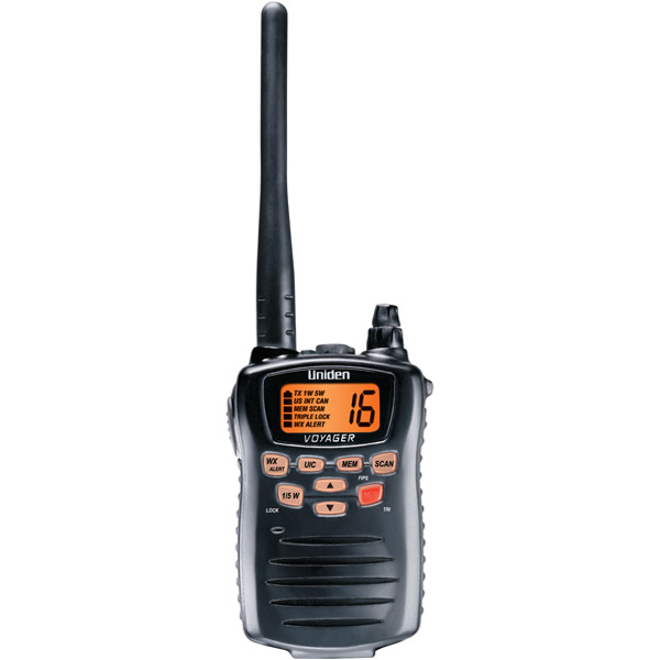 Uniden VOYAGER Voyager Compact Hand-Held VHF 2-Way Marine Radio