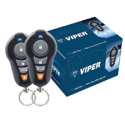 Viper 350 Plus 1-Way Security / Alarm System 3105V