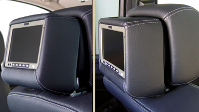Vizualogic a 1290 9 dual dvd active headrest replacements for Mercedes benz wireless headphones